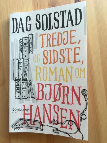 Tredje og sidste roman om Bjørn Hansen.pixlr