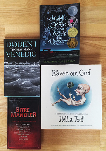 Fire bøger til sommeren